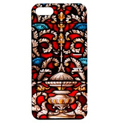 Decoration Art Pattern Ornate Apple Iphone 5 Hardshell Case With Stand