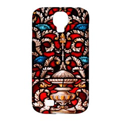 Decoration Art Pattern Ornate Samsung Galaxy S4 Classic Hardshell Case (pc+silicone)