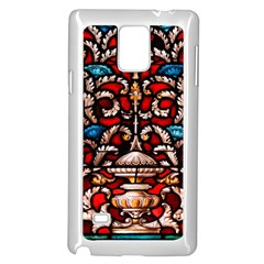 Decoration Art Pattern Ornate Samsung Galaxy Note 4 Case (white)