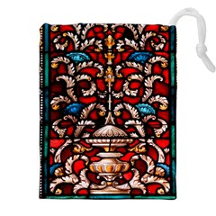 Decoration Art Pattern Ornate Drawstring Pouches (xxl)