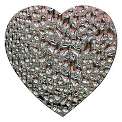 Droplets Pane Drops Of Water Jigsaw Puzzle (heart)
