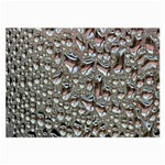 Droplets Pane Drops Of Water Large Glasses Cloth (2-Side) Front