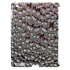 Droplets Pane Drops Of Water Apple Ipad 3/4 Hardshell Case (compatible With Smart Cover)