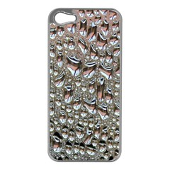 Droplets Pane Drops Of Water Apple Iphone 5 Case (silver)