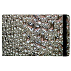 Droplets Pane Drops Of Water Apple Ipad 3/4 Flip Case