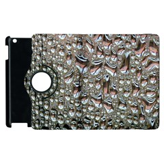 Droplets Pane Drops Of Water Apple Ipad 3/4 Flip 360 Case