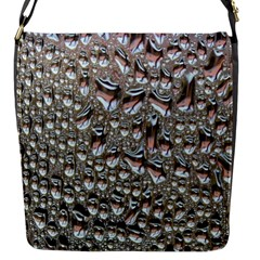 Droplets Pane Drops Of Water Flap Messenger Bag (s)