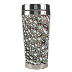 Droplets Pane Drops Of Water Stainless Steel Travel Tumblers