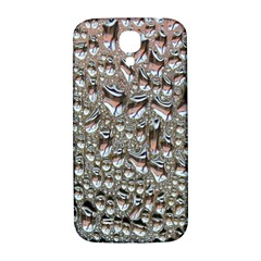 Droplets Pane Drops Of Water Samsung Galaxy S4 I9500/i9505  Hardshell Back Case