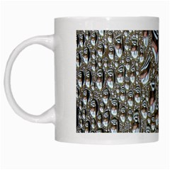 Droplets Pane Drops Of Water White Mugs