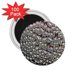 Droplets Pane Drops Of Water 2 25  Magnets (100 Pack)