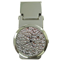 Droplets Pane Drops Of Water Money Clip Watches