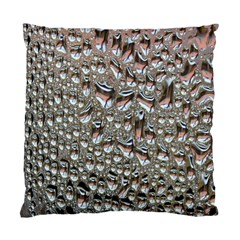 Droplets Pane Drops Of Water Standard Cushion Case (two Sides) by Nexatart