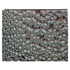 Droplets Pane Drops Of Water Cosmetic Bag (xxxl)