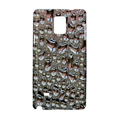Droplets Pane Drops Of Water Samsung Galaxy Note 4 Hardshell Case