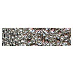 Droplets Pane Drops Of Water Satin Scarf (oblong)