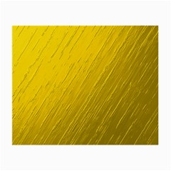 Golden Texture Rough Canvas Golden Small Glasses Cloth