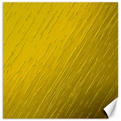 Golden Texture Rough Canvas Golden Canvas 12  X 12