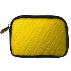 Golden Texture Rough Canvas Golden Digital Camera Cases