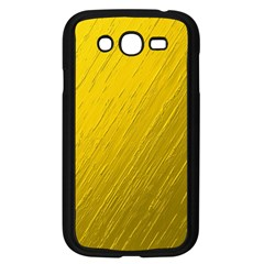 Golden Texture Rough Canvas Golden Samsung Galaxy Grand Duos I9082 Case (black)