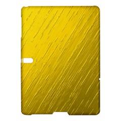 Golden Texture Rough Canvas Golden Samsung Galaxy Tab S (10 5 ) Hardshell Case