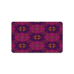 Pattern Decoration Art Abstract Magnet (name Card)