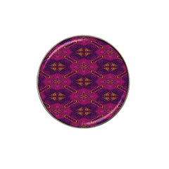 Pattern Decoration Art Abstract Hat Clip Ball Marker (4 Pack)