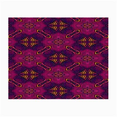 Pattern Decoration Art Abstract Small Glasses Cloth (2 Side)