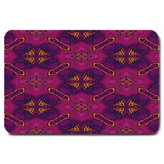 Pattern Decoration Art Abstract Large Doormat