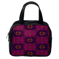 Pattern Decoration Art Abstract Classic Handbags (one Side)