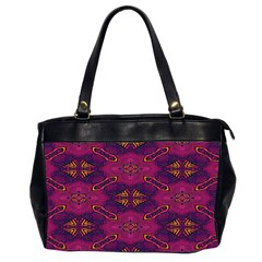 Pattern Decoration Art Abstract Office Handbags (2 Sides)