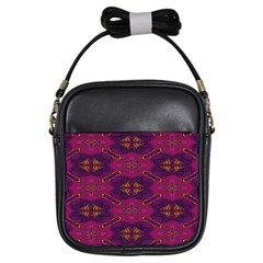 Pattern Decoration Art Abstract Girls Sling Bags