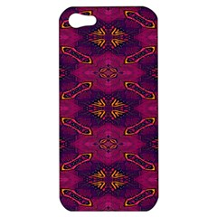 Pattern Decoration Art Abstract Apple Iphone 5 Hardshell Case