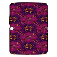Pattern Decoration Art Abstract Samsung Galaxy Tab 3 (10 1 ) P5200 Hardshell Case
