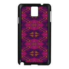 Pattern Decoration Art Abstract Samsung Galaxy Note 3 N9005 Case (black)