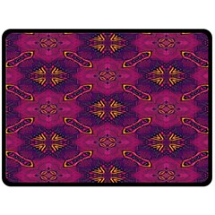 Pattern Decoration Art Abstract Double Sided Fleece Blanket (large)
