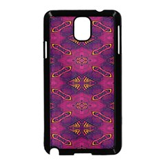 Pattern Decoration Art Abstract Samsung Galaxy Note 3 Neo Hardshell Case (black)