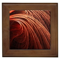 Abstract Fractal Digital Art Framed Tiles