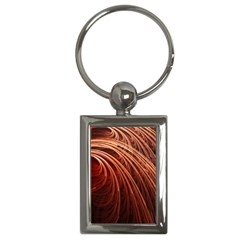 Abstract Fractal Digital Art Key Chains (rectangle)