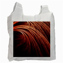 Abstract Fractal Digital Art Recycle Bag (two Side)