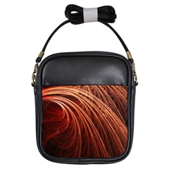 Abstract Fractal Digital Art Girls Sling Bags