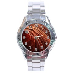 Abstract Fractal Digital Art Stainless Steel Analogue Watch