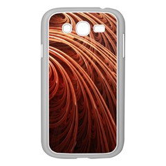 Abstract Fractal Digital Art Samsung Galaxy Grand Duos I9082 Case (white) by Nexatart