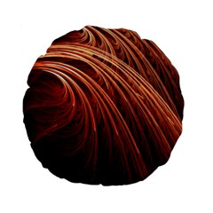 Abstract Fractal Digital Art Standard 15  Premium Flano Round Cushions by Nexatart