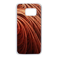 Abstract Fractal Digital Art Samsung Galaxy S7 White Seamless Case