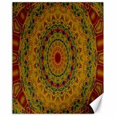 India Mystic Background Ornamental Canvas 16  X 20
