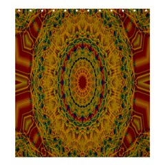 India Mystic Background Ornamental Shower Curtain 66  X 72  (large)