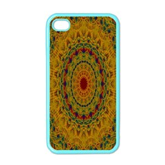 India Mystic Background Ornamental Apple Iphone 4 Case (color)
