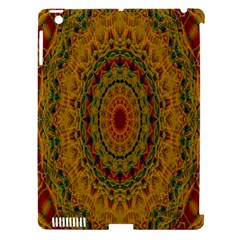 India Mystic Background Ornamental Apple Ipad 3/4 Hardshell Case (compatible With Smart Cover)