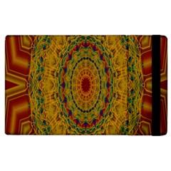 India Mystic Background Ornamental Apple Ipad 2 Flip Case